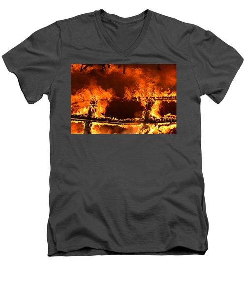 Consumed Men's V-Neck T-Shirt