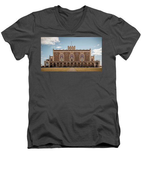 Convention Hall Men's V-Neck T-Shirt