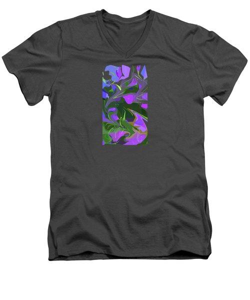 Corner Flower Shop  Men's V-Neck T-Shirt