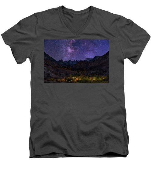 Cosmic Nature Men's V-Neck T-Shirt