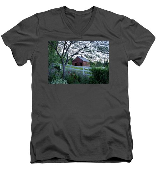 Country Memories Men's V-Neck T-Shirt