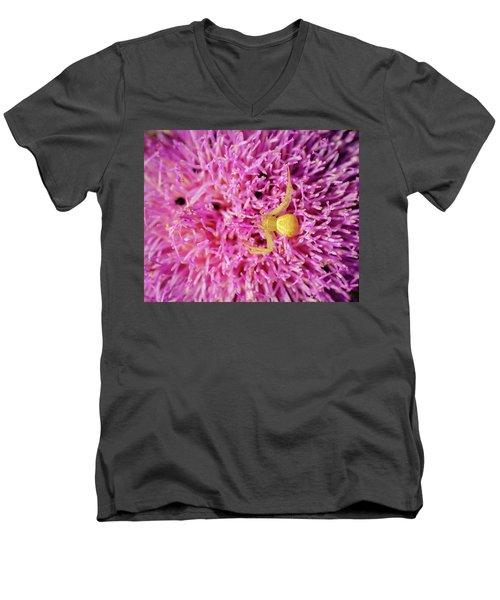 Crab Spider Men's V-Neck T-Shirt