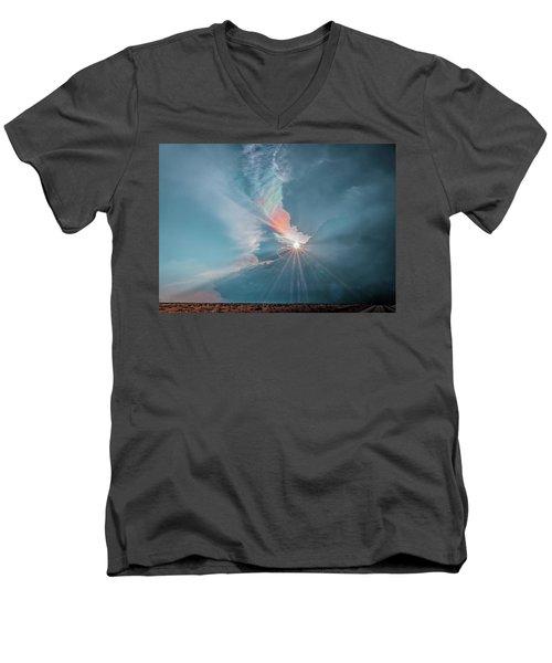Crazy Luminescence Men's V-Neck T-Shirt