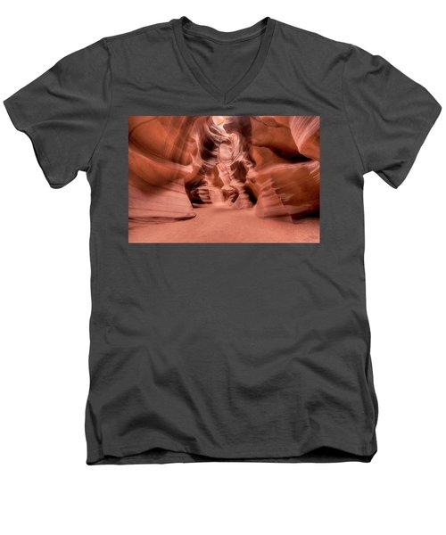 Crooked Walls Men's V-Neck T-Shirt