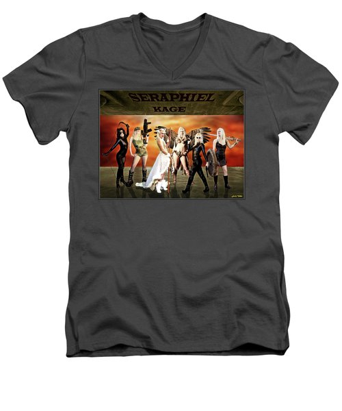 Seraphiel Illusions Men's V-Neck T-Shirt