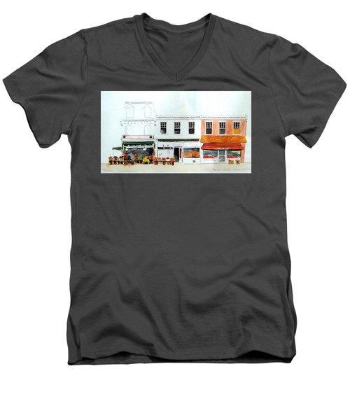 Cutrona's Market On King St. Men's V-Neck T-Shirt