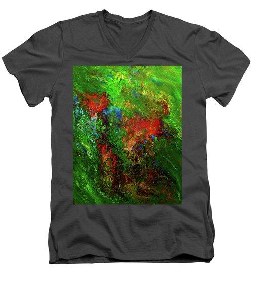 Dance Of The Dragon Men's V-Neck T-Shirt