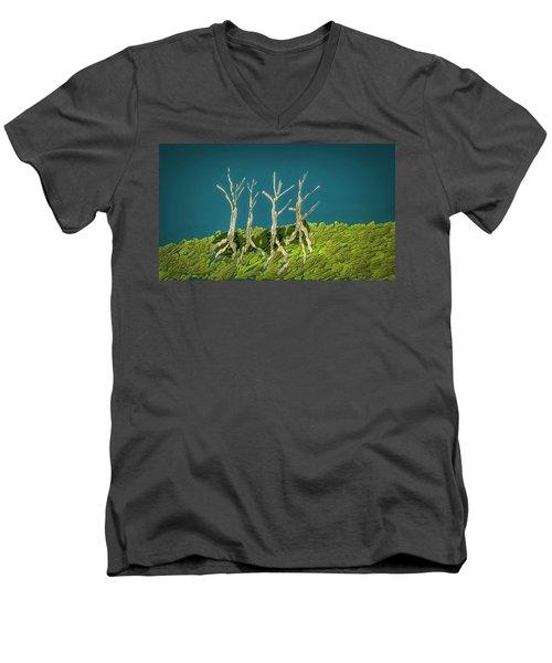Dancing #i3 Men's V-Neck T-Shirt