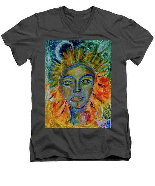 Daughter Of The Sun And Moon Men's V-Neck T-Shirt