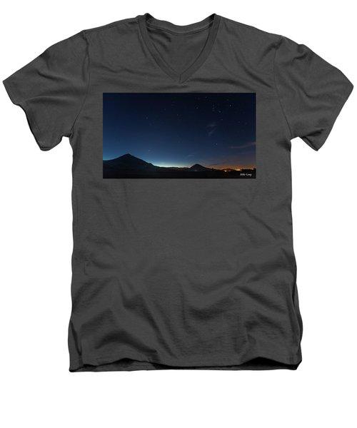 Dawn's Early Light Men's V-Neck T-Shirt