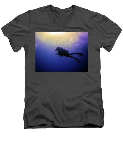 Deep Ascent Men's V-Neck T-Shirt