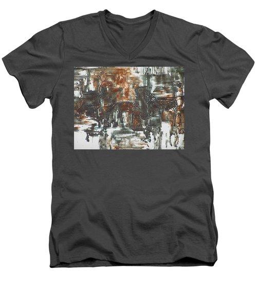 Deer Men's V-Neck T-Shirt