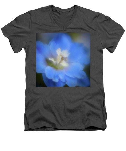 Delphinuim Joy Men's V-Neck T-Shirt