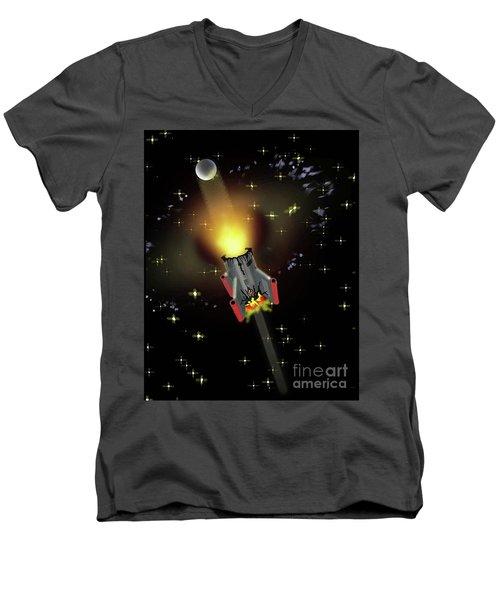 Demolition Men's V-Neck T-Shirt