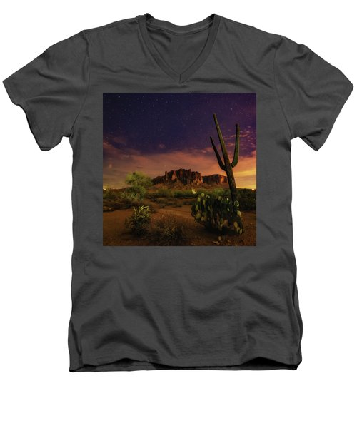 Desert Beauty Men's V-Neck T-Shirt