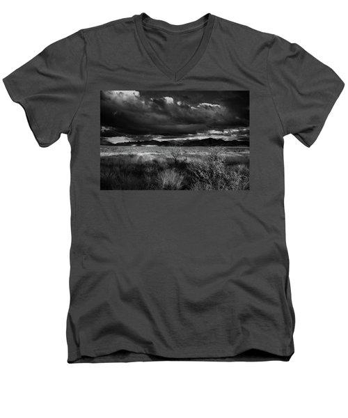 Desert Shadow Moods Men's V-Neck T-Shirt
