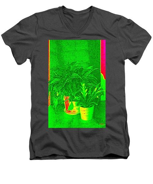 Desktop Garden   Men's V-Neck T-Shirt