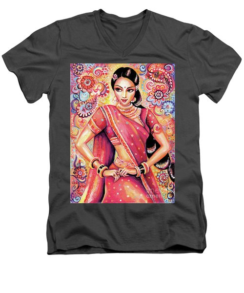 Devika Dance Men's V-Neck T-Shirt