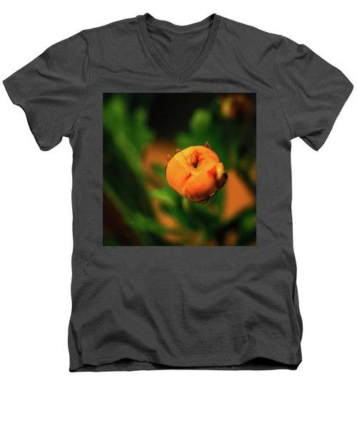 Dimensionality In Sphere Men's V-Neck T-Shirt