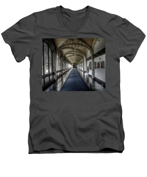 Down The Hall Men's V-Neck T-Shirt