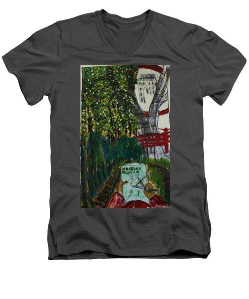 Drawing The Lavish Abuser Men's V-Neck T-Shirt