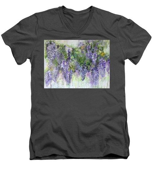 Dreams Of Wisteria Men's V-Neck T-Shirt