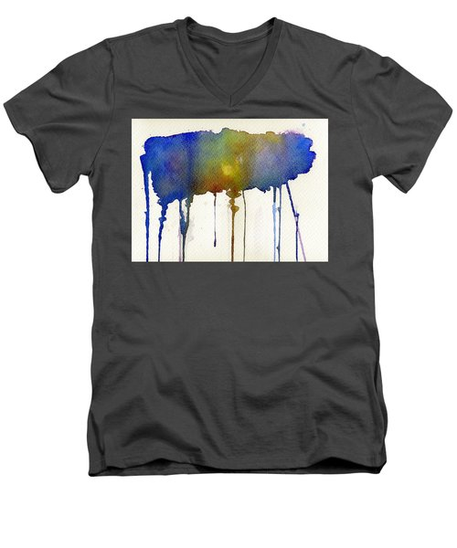 Dripping Universe Men's V-Neck T-Shirt