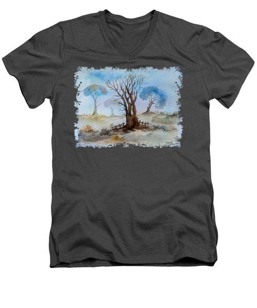 Dry Tree Men's V-Neck T-Shirt