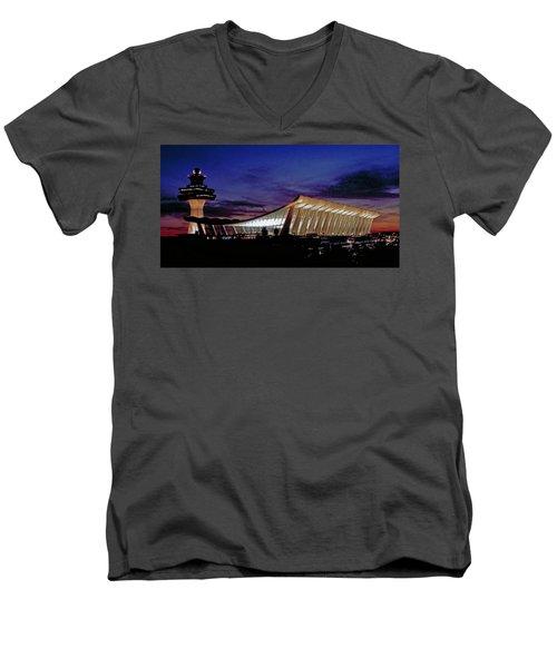 Dulles International Men's V-Neck T-Shirt
