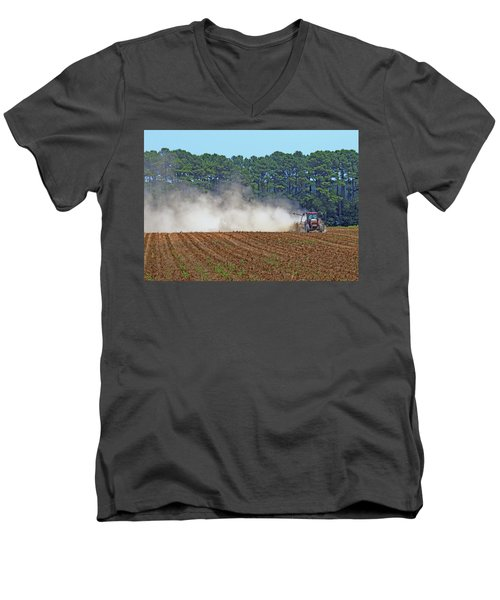 Dust Farming Men's V-Neck T-Shirt
