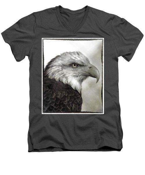 Eagle Protrait Men's V-Neck T-Shirt