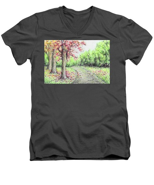 Early Autumn Men's V-Neck T-Shirt