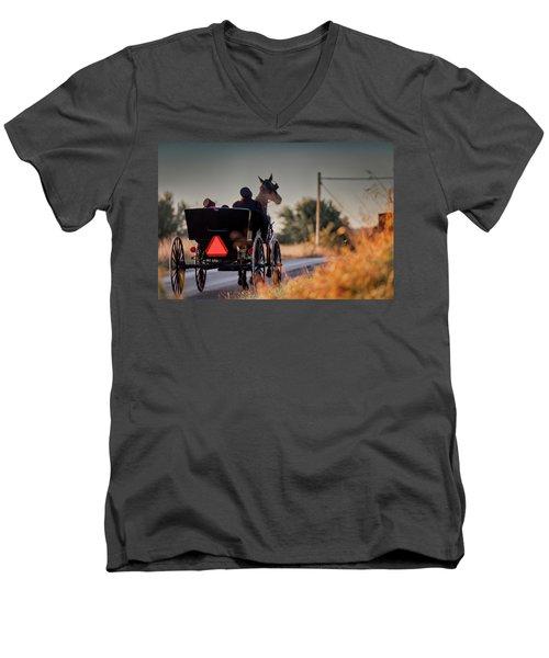 Early Moring Men's V-Neck T-Shirt