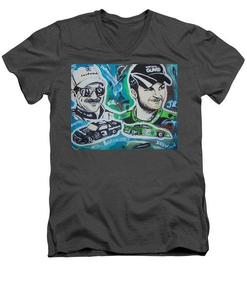 Earnhardt Legacy Men's V-Neck T-Shirt