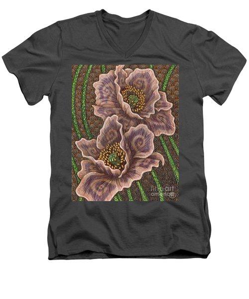 Earth Song 1 Men's V-Neck T-Shirt