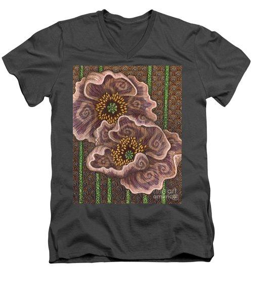 Earth Song 2 Men's V-Neck T-Shirt