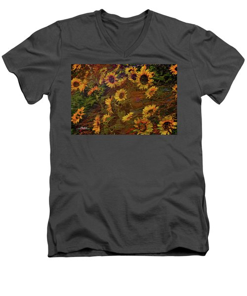 Ecoattack Men's V-Neck T-Shirt