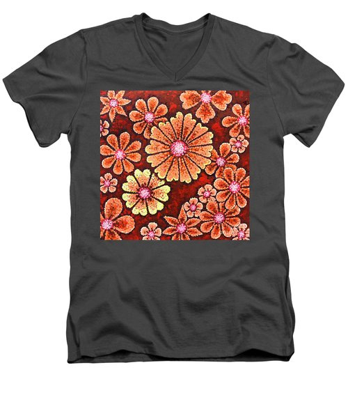 Efflorescent 7 Men's V-Neck T-Shirt