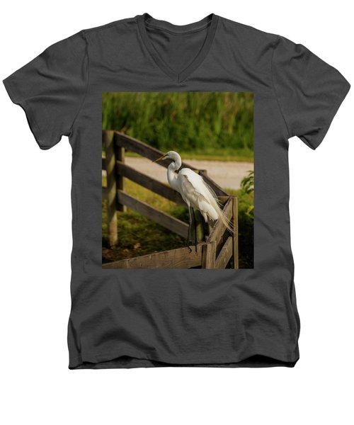 On The Fence Men's V-Neck T-Shirt