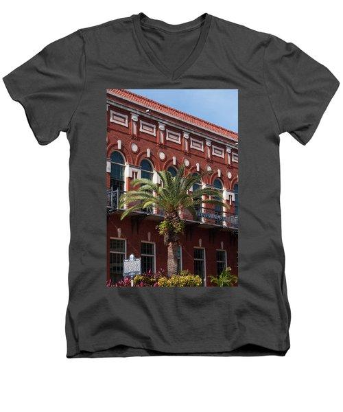 El Centro Espanol De Tampa Men's V-Neck T-Shirt