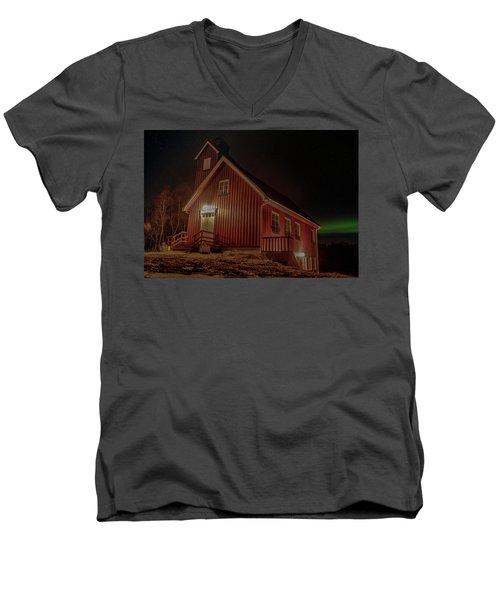 Elgsnes Chapel Men's V-Neck T-Shirt