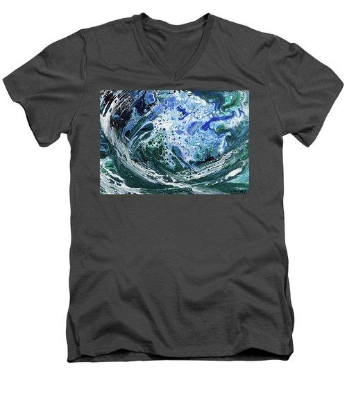 Enchanted Wave Men's V-Neck T-Shirt