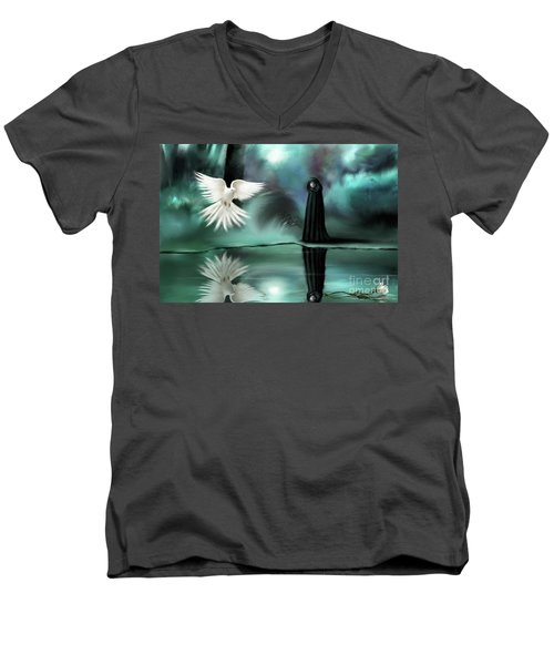 Enigma Men's V-Neck T-Shirt
