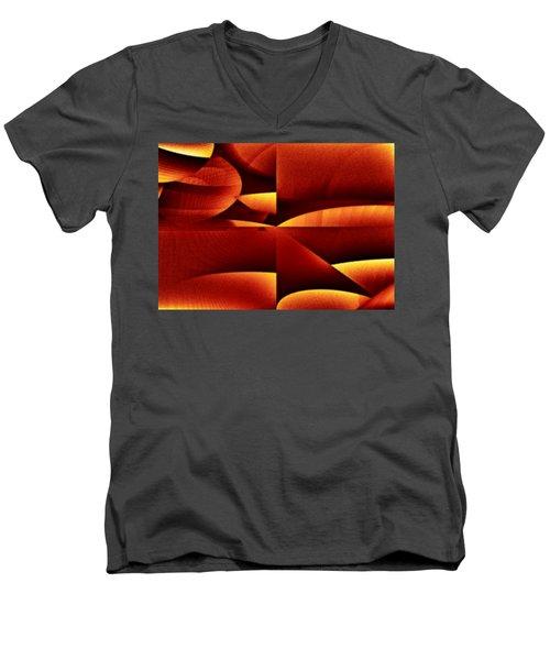 Envasar Men's V-Neck T-Shirt