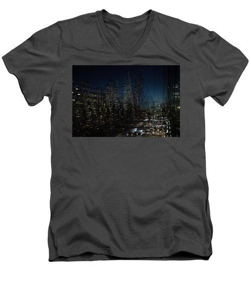 Escape From New York Men's V-Neck T-Shirt