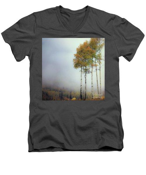 Ethereal Autumn Men's V-Neck T-Shirt