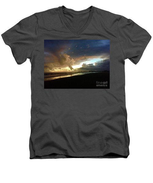 Evening Sky Men's V-Neck T-Shirt