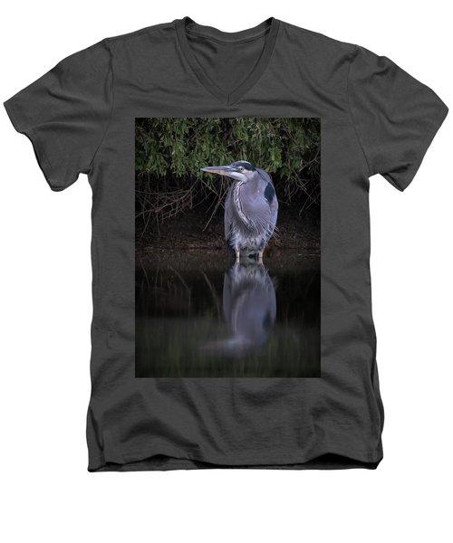 Evening Stalk Men's V-Neck T-Shirt