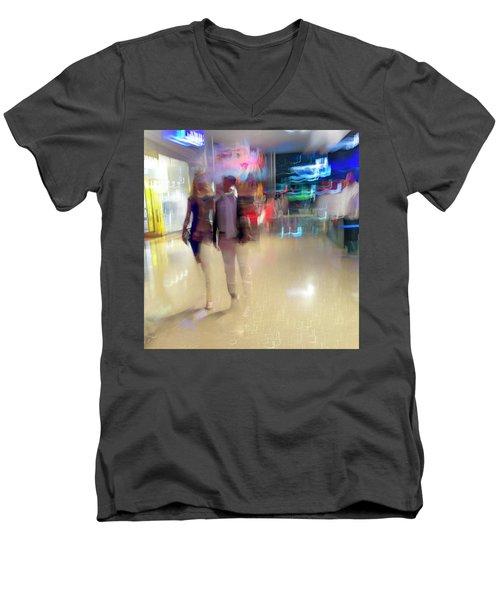 Evening Stroll Men's V-Neck T-Shirt