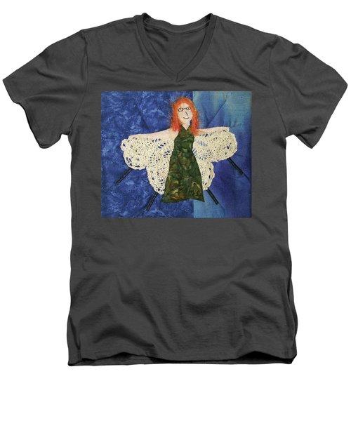 Every Fiber Of Her Being Men's V-Neck T-Shirt